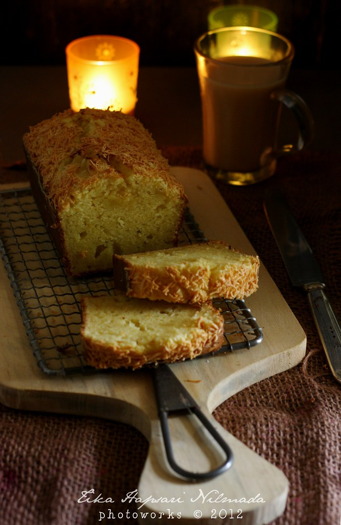 (Homemade) - Fermented cassava cake
