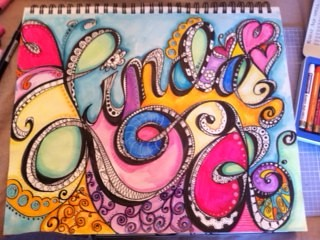 whimsical name in color