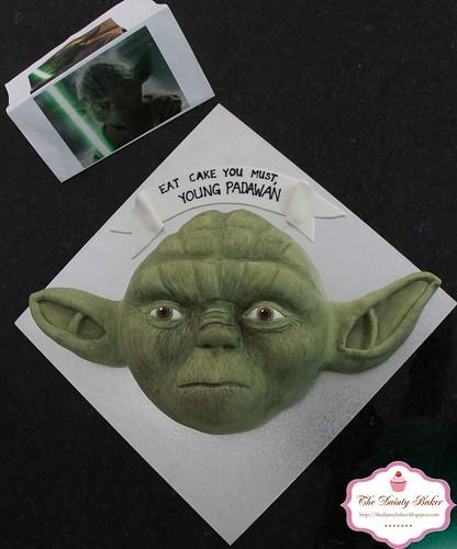 Yoda Cake-8