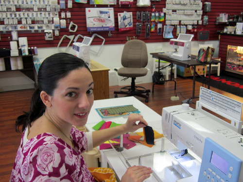 at Charlotte Sewing Center