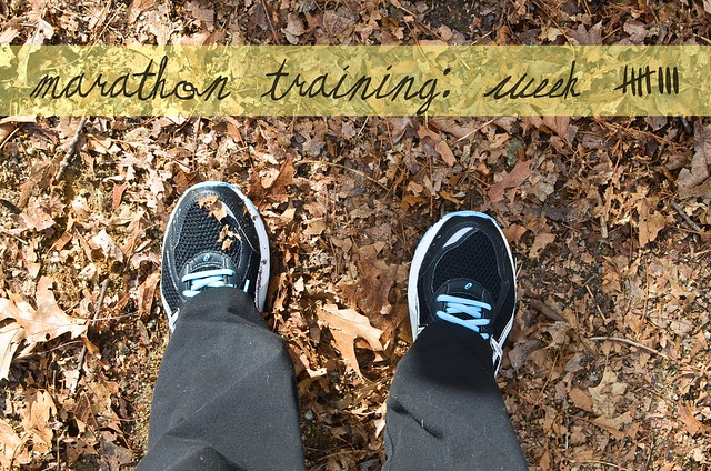 marthon training week 8