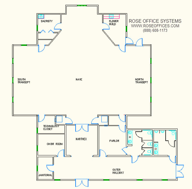 10000 sq ft church plans. modular Gothic church floor plan Modular Buildings and Mobile Offices
