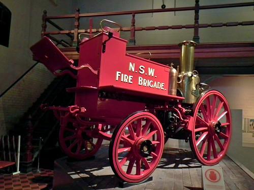 1896 Merryweather horse drawn steam fire pump
