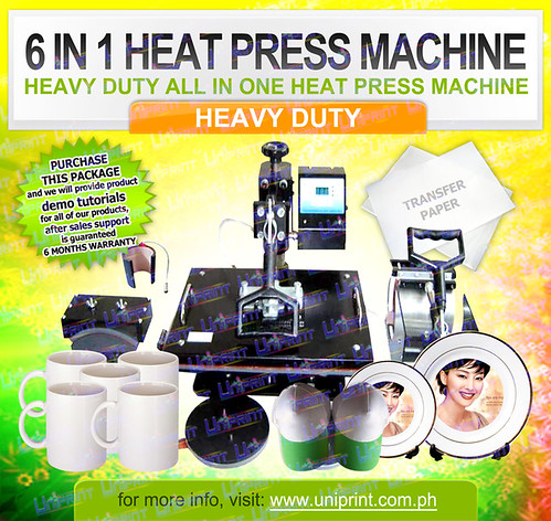 6 in 1 Heat Press