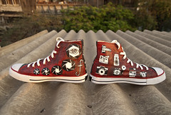 Photography-themed shoes