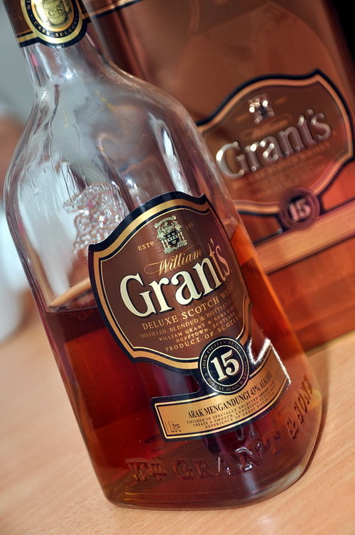 CD Grant whisky