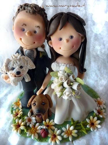 Cake Topper per matrimonio di Valentina