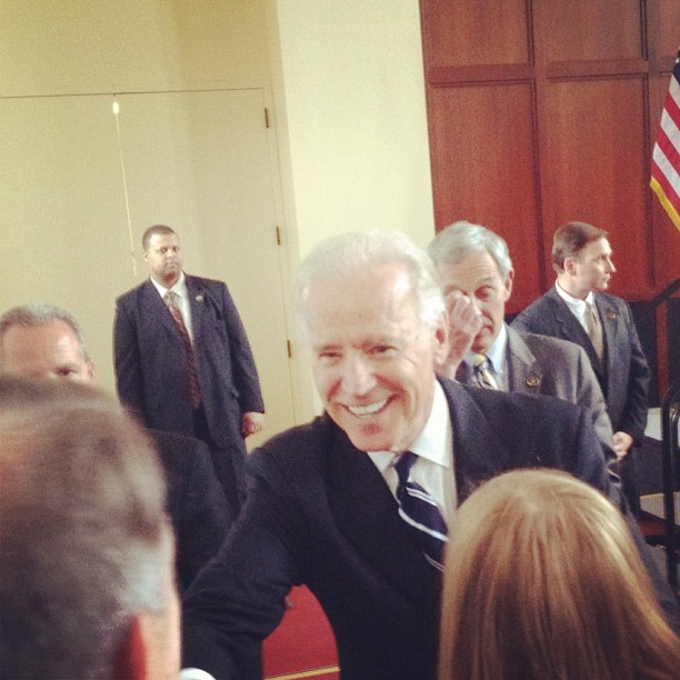 Vice President Joe Biden Visits Ames