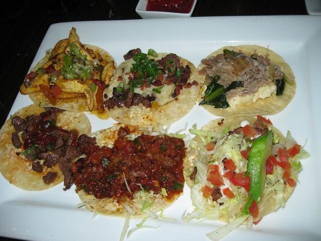 bunch of tacos