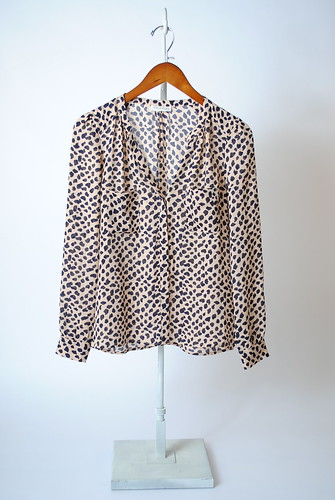 Sylvia Painted Animal Blouse