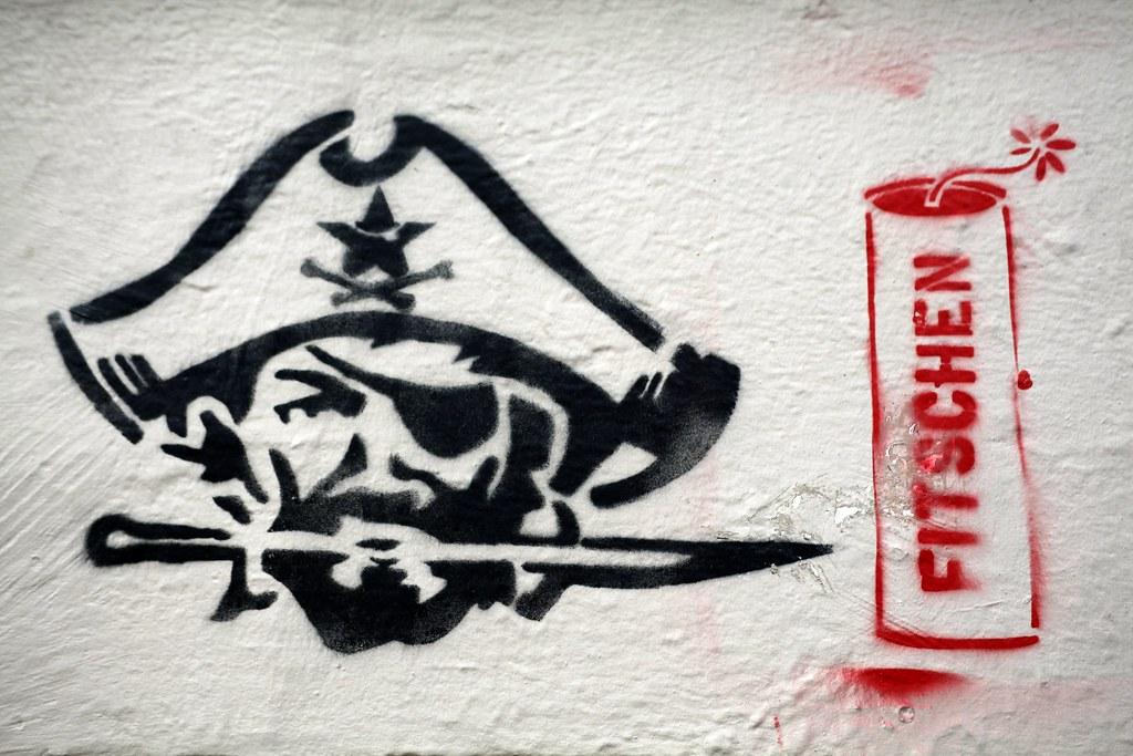 Streetart Stencil Hamburg