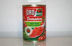 06 - Zutat Tomatenstücke / Ingredient canned tomatoes