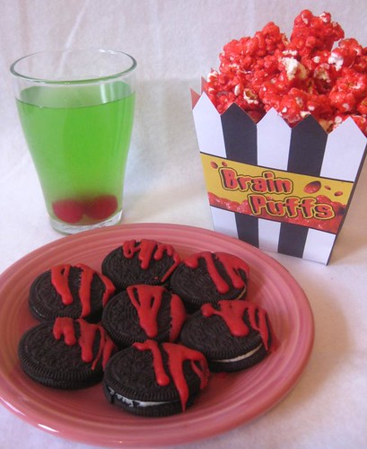 ghoul's day:  party food!