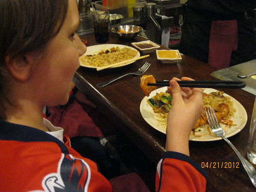 4/21/12: Not up the chopstick challenge?