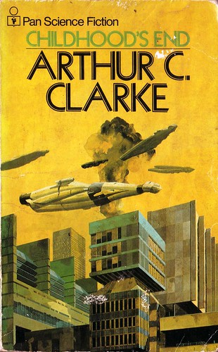 Childhood's End by Arthur C. Clarke. Pan Books 1972. Cover art Chris Foss