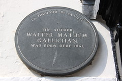 Photo of Walter M. Gallichan grey plaque