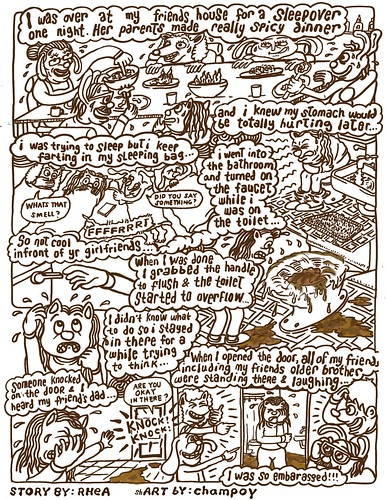 Teen Drama Comix 02 for LA RECORD