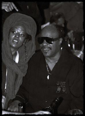 Erykah Badu and Stevie Wonder (Jakarta 2012)