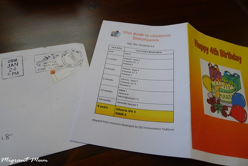 Immunisation Mail