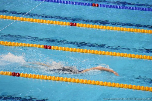 Swimming Finals - 9th March 2012 - Aquatics Centre 58