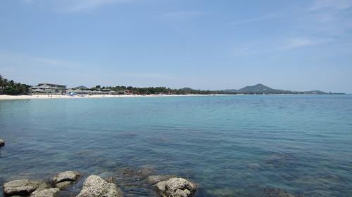 Koh Samui Chaweng Beach →Chaweng Noi Beach サムイ島チャウエンビーチからチャウエンノイビーチへ岩越え (7)