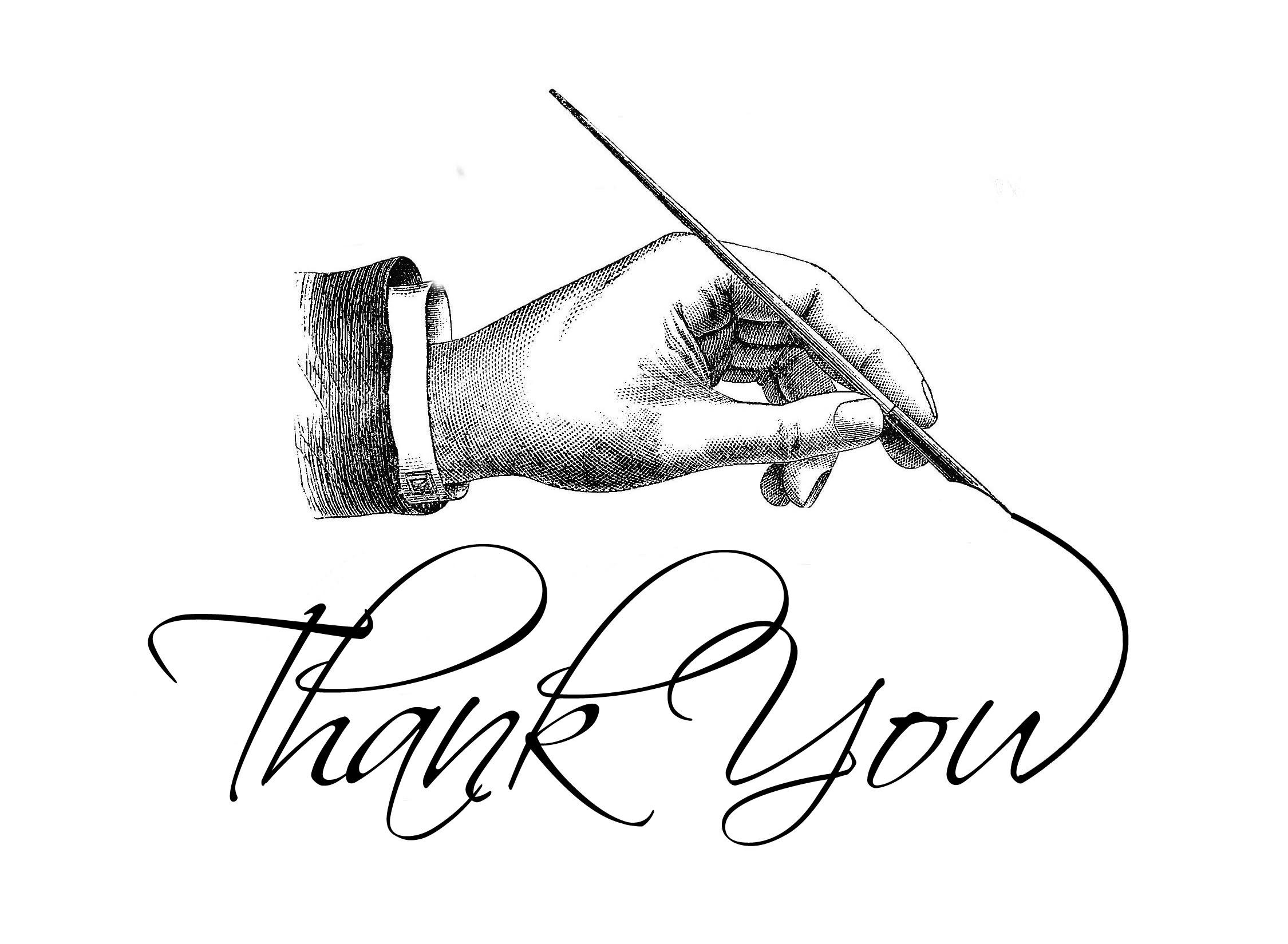 Thankyouwithhand