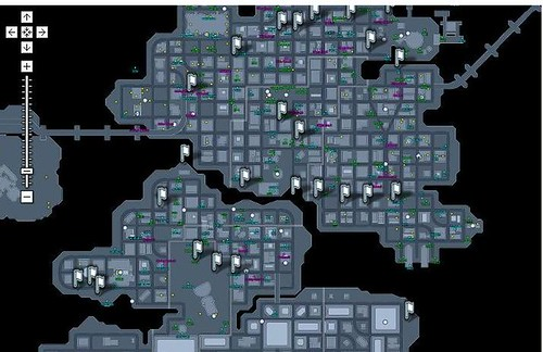 Fan Made DC Universe Online Maps Can Help You Find Everything