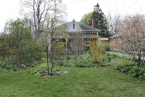 Two Gardens in Stratford, Ontario