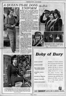 Bury Free Press Coronation Souvenir Page 7 - 2nd June 1953