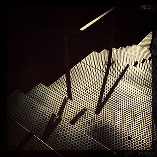 futuristicEscher #iphoneography #urban #architecture #steel #geometric #shadows #lisbon