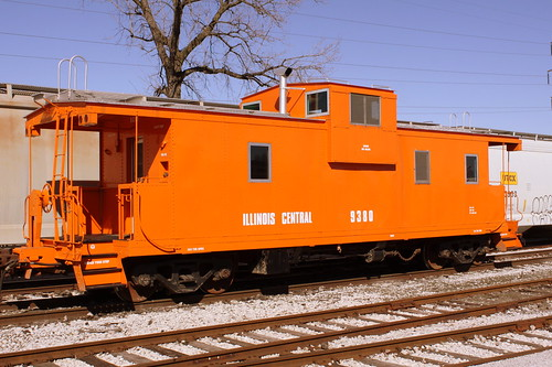 In Tennessee, even the caboose is orange!