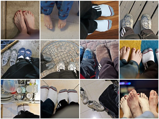 Our Day in Feet mosaic