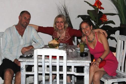David, Christine & Amy