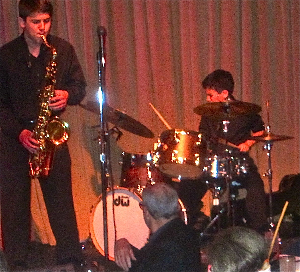 youthful jazz band