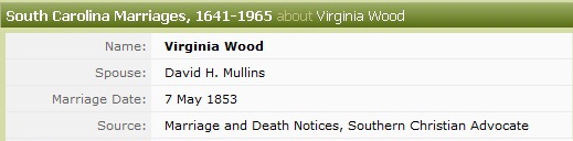 Ancestry's Mistake Virginia Wood Marriage