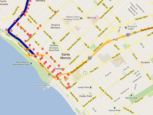 LA Marathon Street Closures