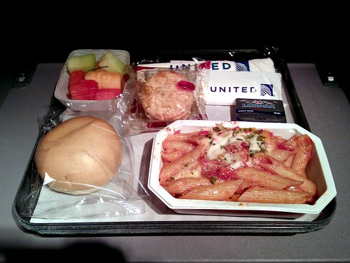 Continental Airlines Pasta