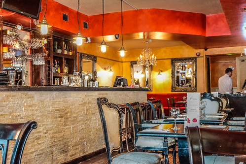 Inside Salamanca Tapas bar and restaurant by infomatique