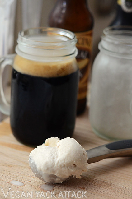 Irish Whiskey Ice Cream Beer Float | Healthy Vegan St. Patrick's Day Recipes You Can Make | vegan st patricks day recipes | vegan st patricks day