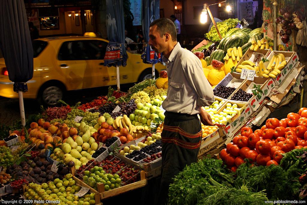 El tendero de Estambul