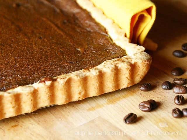 crostata al caffè