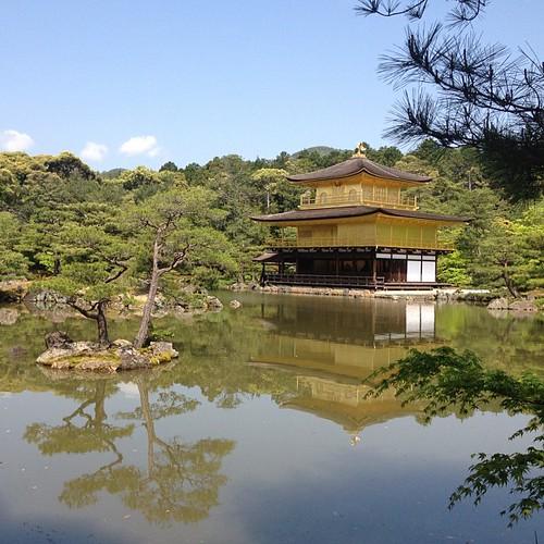 Kinkaku (The Golden Pavilion) #kinkaku #kyoto #japon #japan