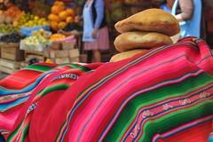 Tela típica de Bolívia