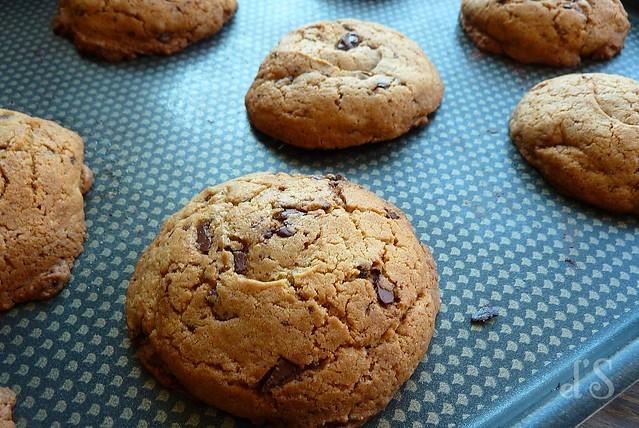 cookies spéculoos pépites chocolat