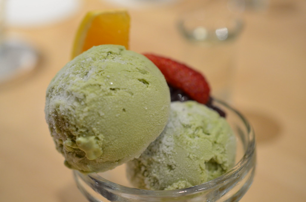 Masuya Green tea ice cream