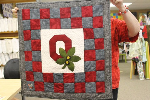 Buckeye Block by Cathy Gordon