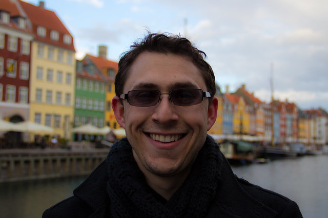 Alex in Copenhagen - Headshot