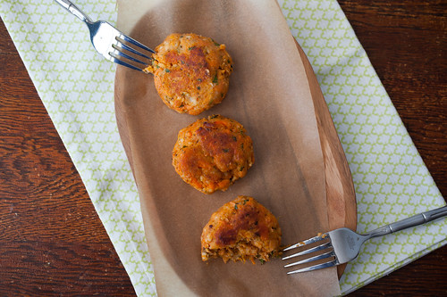 sweet potato patties