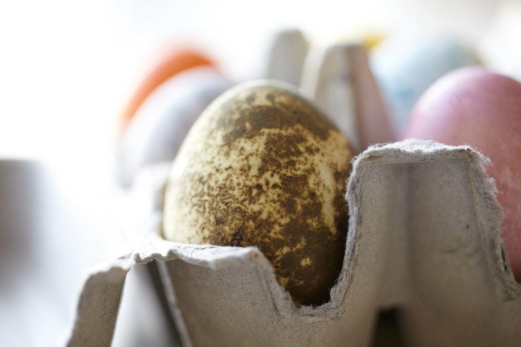 Fun with Color and Texture - Natural Dye Easter Eggs