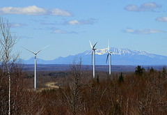 First Wind's Rollins Mountain Wind Farm